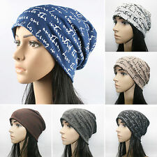 Fashion Men Women Hip-Hop Warm Winter Cotton Knit Ski Beanie Skull Cap Bboy Hat