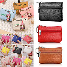 New Women Ladies Girls Small Wallet Card Holder Zip Coin Purse Clutch Handbag
