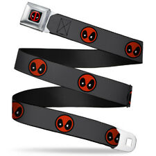 Deadpool Marvel Comics Antihero PopVinyl Mask Seatbelt Belt