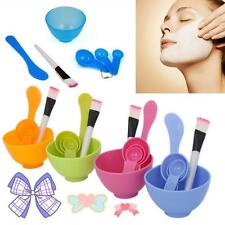 Make Mask DIY Bowl Stick Face Mask Tool Set Skin Care Brush Spoon