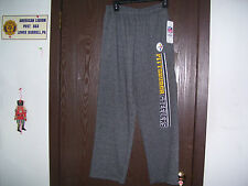 NFL Team Apparel NWT Youth Warm Up Pants Bottoms Sweats Large 14-16 Gray