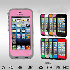 NEW Waterproof Shock Proof Water Proof Case Cover for iPhone 5 5S iPhone SE