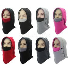 Unisex FULL FACE Mask Warmer Neck Skull Cap Hat Motorcycle Biker Scarf Ski Hood