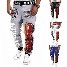 Men's Casual Training Sport Gym Pants Jogging Jogger Harem Trousers Sweatpants