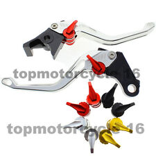 FXCNC 3D Rhombus Brake Clutch Pierced Lever For BMW K1200R SPORT R1200R Silver