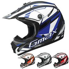 GMax GM46.2 Traxxion Motocross Dirt Bike Off Road Helmets