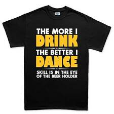 Drink Dance Beer Drinking Party Funny Joke Mens T shirt Tee Top T-shirt