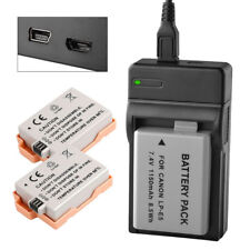 Battery Charger LP-E5 for Canon EOS 450D 500D 1000D Rebel XSi T1i XS X2 X3 LC-E5