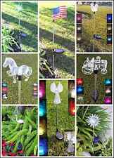 Garden Decoration Solar Powered Color Changing Yard Lawn Patio Stake Light