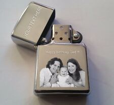 VALENTINES DAY PHOTO ENGRAVED WINDPROOF LIGHTER GIFT VALENTINES DAY. FREE BOX