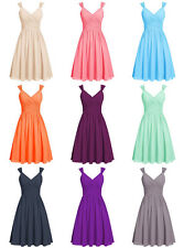 Short Bridesmaid Dress Formal Evening Gown Homecoming Party Prom Dress Size2++16