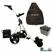 Electric Golf Trolley Spare Parts Digital Handle Promaster Plus Battery Leads