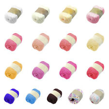 50G Soft Natural Smooth Silk Fiber Hand Knitting Yarn Baby Child Knit Wool Yarn