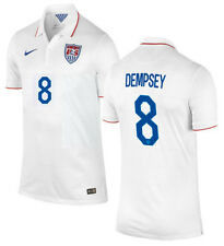 NIKE CLINT DEMPSEY USA YOUTH HOME JERSEY FIFA WORLD CUP BRAZIL 2014.