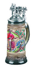 German Beer Stein fire brigade relief bumper 0.5 liter tankar.. ZO 1373/9013 NEW