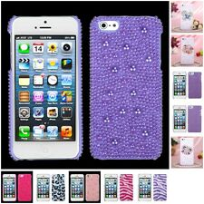 For Apple iPhone 5/5S/SE Diamond Bling Rhinestone Case Phone Cover