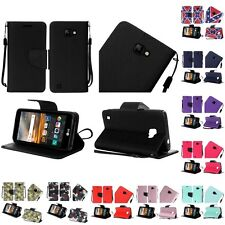 For LG K3 Wallet Case Pouch With ID Card Pocket Slots