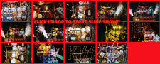 BUY 1,2...OR ALL 4 x 6 inch  photo(s)  KISS ERIC CARR 1980  NYC SIMMONS FREHLEY