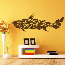 FIsh Kid Nursery Room  Vinyl Removable Wall Sticker Home Decor Mural DIY Decals