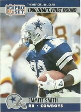 1990 Pro Set Emmitt Smith Dallas Cowboys #685 Football Card