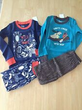 NWT Gymboree Boys Gymmies Pajamas PJ 5 6  Winter Cotton Bears Beaver Moose