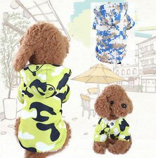 Padded Warm Dog Clothes Puppy Coat Pet Jacket Winter Hoodie XS/S/M/L/XL