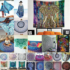Indian Mandala Tapestry Hippie Beach Blanket Yoga Mat Wall Hanging Bedspread Art
