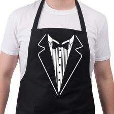 Tuxedo Chef Funny BBQ Barbecue Novelty Apron Mothers Fathers Day Birthday Gift
