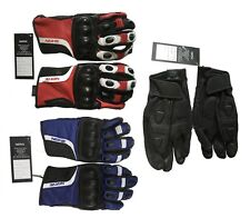 Motorcycle Gloves Winter Riding Leather Biker Leather Gloves Fully Lined New