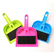 Notebook Dustpan Cleaning Brush Dustpan Brush Set Small Brooms Whisk Dust Pan