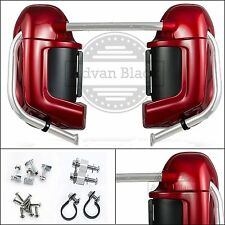 """Color-Matched Lower Vented Fairing Set For Harley HD """"Road Glide"""" 2003-2013"""