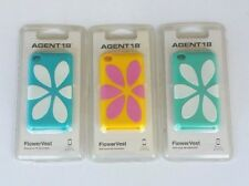 Agent 18 FlowerVest Apple Ipod Touch 4 4TH Gen Case Silicone Blue or Yellow