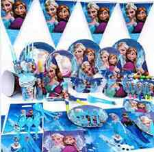 Disney FROZEN Birthday PARTY RANGE (Tableware/Decorations/ Napkins) Anna/Elsa