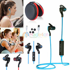 MD44 Bluetooth Stereo MIC Earphone Sport Headset Headphone For Call Phone Apple
