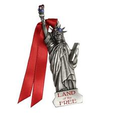 Gloria Duchin Pewter Christmas Ornament New Statue of Liberty  Land of the Free