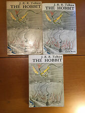 J.R.R. Tolkien - The Hobbit - 3x Variants of 1966 UK Paperback Unwin 3rd Edition