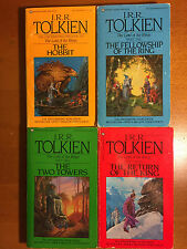J.R.R. Tolkien - The Hobbit & The Lord of the Rings - 1981/1983 -  US Paperbacks