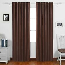 Deconovo Rod Pocket and Back Tab Blackout Curtains Thermal Insulated Window...