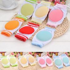 1 Pair  To Walk Circular Breathable Cotton Kids Knee Pad Baby Crawling Sponge