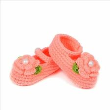Accessories Crochet Newborn Baby Handmade Girl Prewalker Shoes Socks Knit Crib