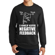 Negative Feedback Electricity Funny Sweatshirt Hoodie Shirt