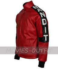 Burt Reynolds Smokey And The Bandit Out Cosplay Movies-Outfit Red Leather Jacket