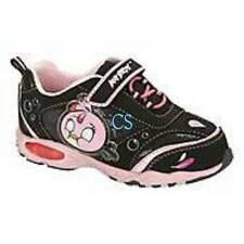 NWT-Kids Girls Rovio Angry Birds Black Pink Light Up Athletic Sneakers Shoes- 11