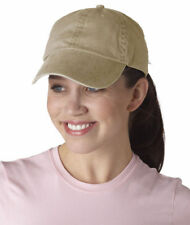 Anvil New 6 Panel Cotton Pigment Dyed Twill Baseball Hat Low Profile Cap. 146