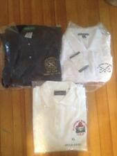 LOT of 3 PLANDOME L.I.  NY  FIREFIGHTER  FIRE DEPT GOLF OUTING SHIRTS  FREE SHIP
