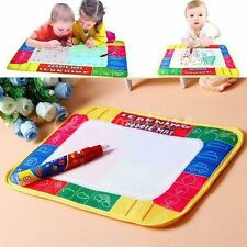 80X60cm Water Drawing Toy Painting Writing Mat Board 2 Magic Pens Doodle Mat FY