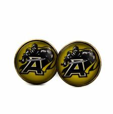 Army Black Knights football Logo cufflinks. Military Academy cuff links.