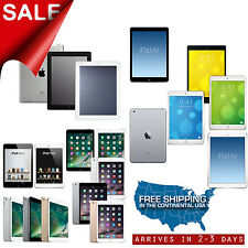 Apple iPad 2,3,4,Air,mini 16GB/32GB/64GB/128GB Wi-Fi,AT&T-Mobile,Sprint,Verizon
