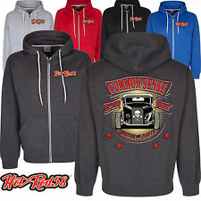 Hotrod 58 American Common Sense Custom Vintage Classic Car Hoodie zip Jacket 209
