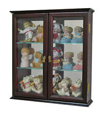 Wall Curio Cabinet Display Case Shadow Box, Home Accents for Figurines, CD05C